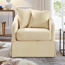 Load image into Gallery viewer, Sheris Custom-Made Slipcover Swivel Barrel Chair