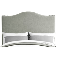 Load image into Gallery viewer, Euka Upholstered Slipcover Panel Headboard