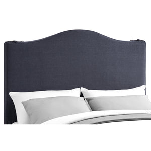 Euka Upholstered Slipcover Panel Headboard