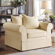 Load image into Gallery viewer, Willis Custom-Made Roll Arm Slipcover Armchair