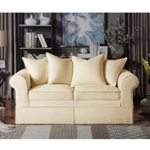 Willis Roll Arm Slipcover Loveseat