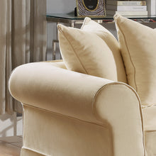 Load image into Gallery viewer, Willis Roll Arm Slipcover Loveseat
