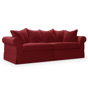 Willis Roll Arm Slipcover Sofa