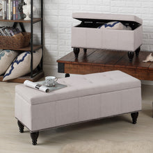 Load image into Gallery viewer, Darrah Upholstered Storage Bench