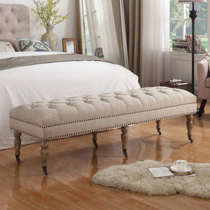Wolverton Upholstered Bench