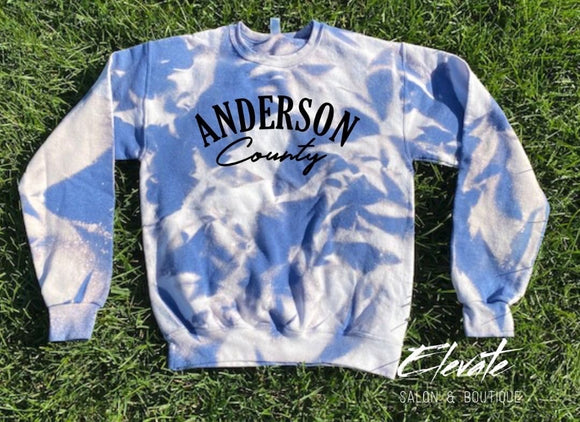Anderson County Bleached Sweatshirt