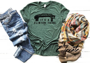 Clinton Green Bridge T-Shirt
