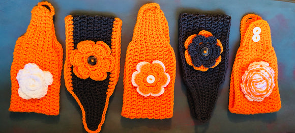 Old Soul's HANDMADE CROCHET UT HEADBAND/EAR-WARMER