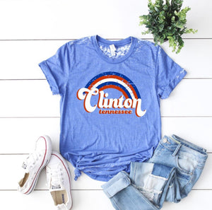 Clinton Tennessee USA T-Shirt