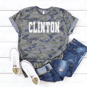 Clinton Camo T-Shirt