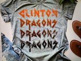 Clinton Dragons T-Shirt