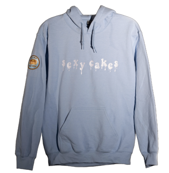 Frosted Blue Drip Sweatshirt