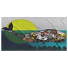 Beach Towel - Whalez Fragmented - Craft Beer Artwork) - joestickel