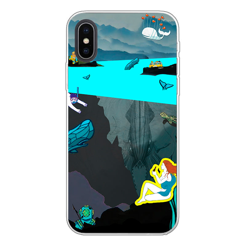 Phone Case - Deep Sea View - (Craft Beer Artwork)