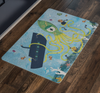 Doormat - I Spy With My Little Eye - (Craft Beer Artwork) - joestickel