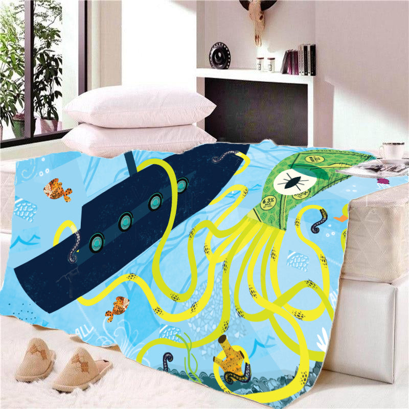 Fleece Blanket - I spy with my little eye - (Craft Beer Artwork)