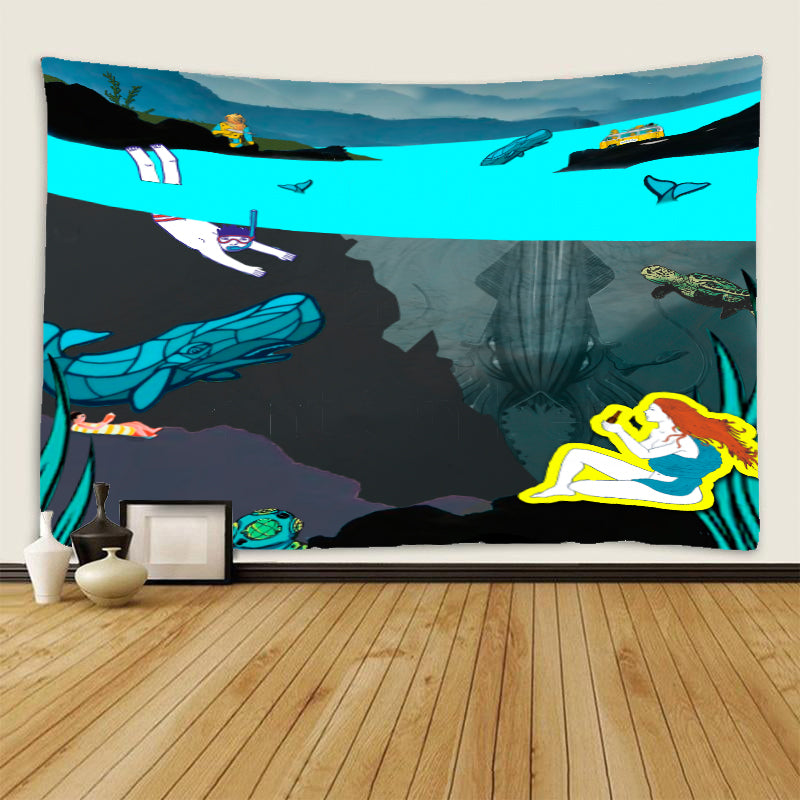 Tapestry - Deep Sea View - (Craft Beer Artwork)