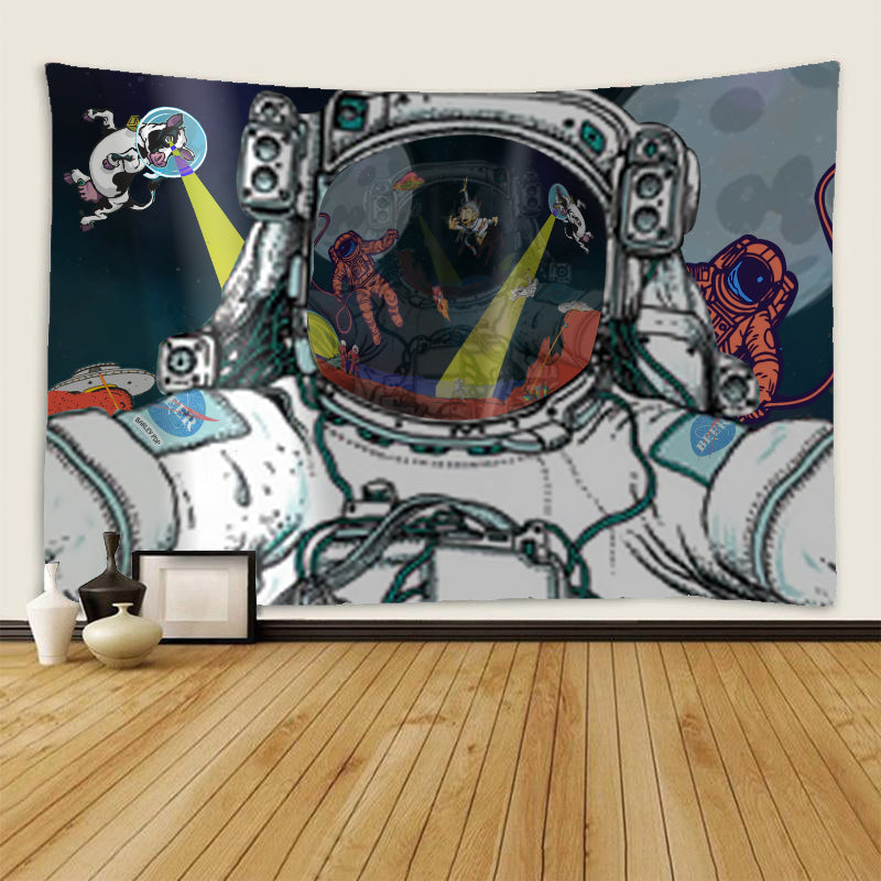 Tapestry - Astronaut Selfie - (Craft Beer Artwork)