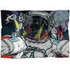 Fleece Blanket - Astronaut Selfie - (Craft Beer Artwork) - joestickel