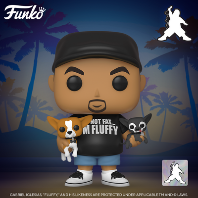 Fluffy with His Dogs Funko Pop