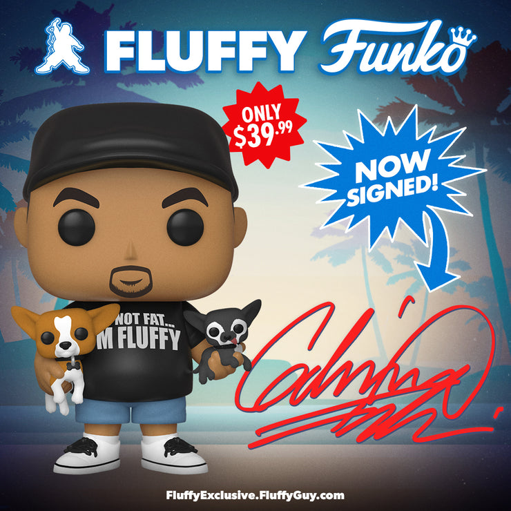 Fluffy with His Dogs Funko Pop (Autographed)