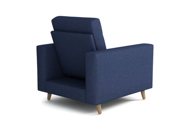 Fauteuil - Collection Emotion - 88 x 96 x 94 - Bleu
