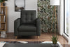Fauteuil - Collection Emotion - 88 x 96 x 94 - Gris anthracite