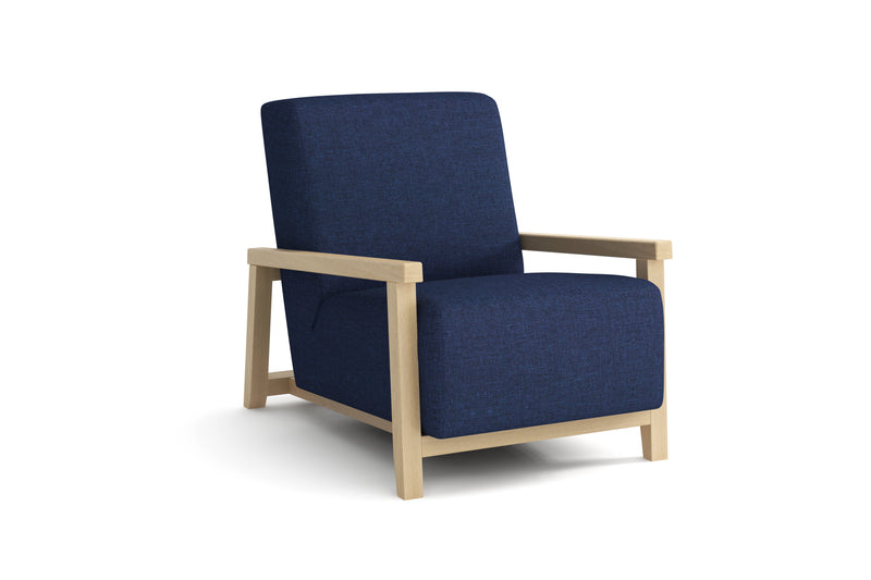 Fauteuil - Collection Art - 63 x 96 x 72 cm - Bleu