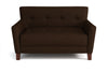 Canapé 2 Places - Collection Chic - 130 x 80 x 82 cm - Marron