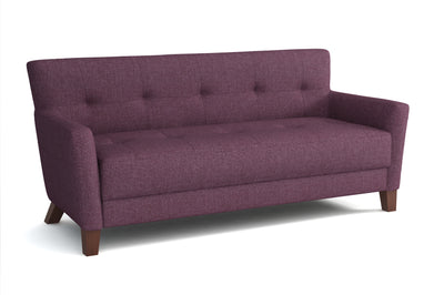 Canapé 3 places - Collection Chic - 180 x 80 x 82 cm - Violet