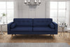 Canapé 3 places - Collection Noblesse - 200 x 87 x 76 cm - Bleu