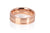 18ct Rose Gold Men's Band with double grooves