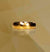 18ct Rose Gold Hand Plenished Mens Wedding Band
