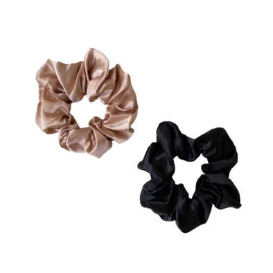 Large Satin Scrunchies