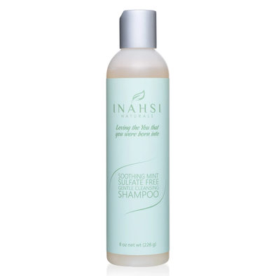 Sulfate-free Soothing Mint Gentle Cleansing Shampoo - 8 Oz