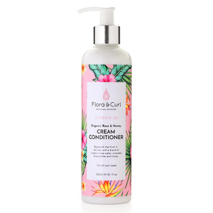 Hydrate Me Organic Rose & Honey Cream Conditioner (300ml)