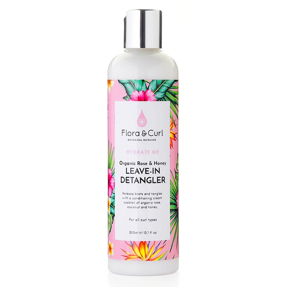 Hydrate Me Organic Rose & Honey Leave-in Detangler (300ml)