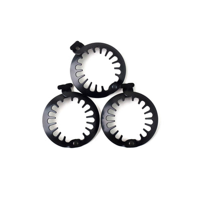 Hair Clamp Mini Pack- Black - 2.5 Inch (3 Pcs in one pack)