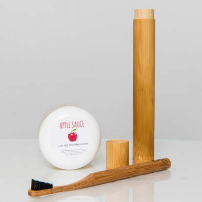 Apple Sauce Edge Control & Edge Brush Bundle