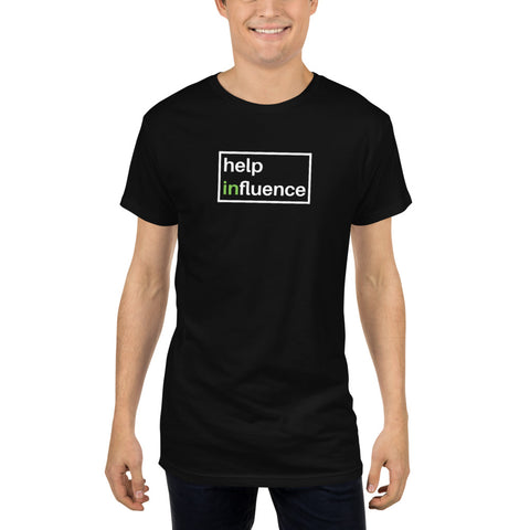 help influence Long Body Urban Tee