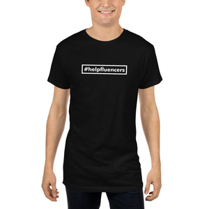 #Helpfluencers minimal Long Body Urban Tee