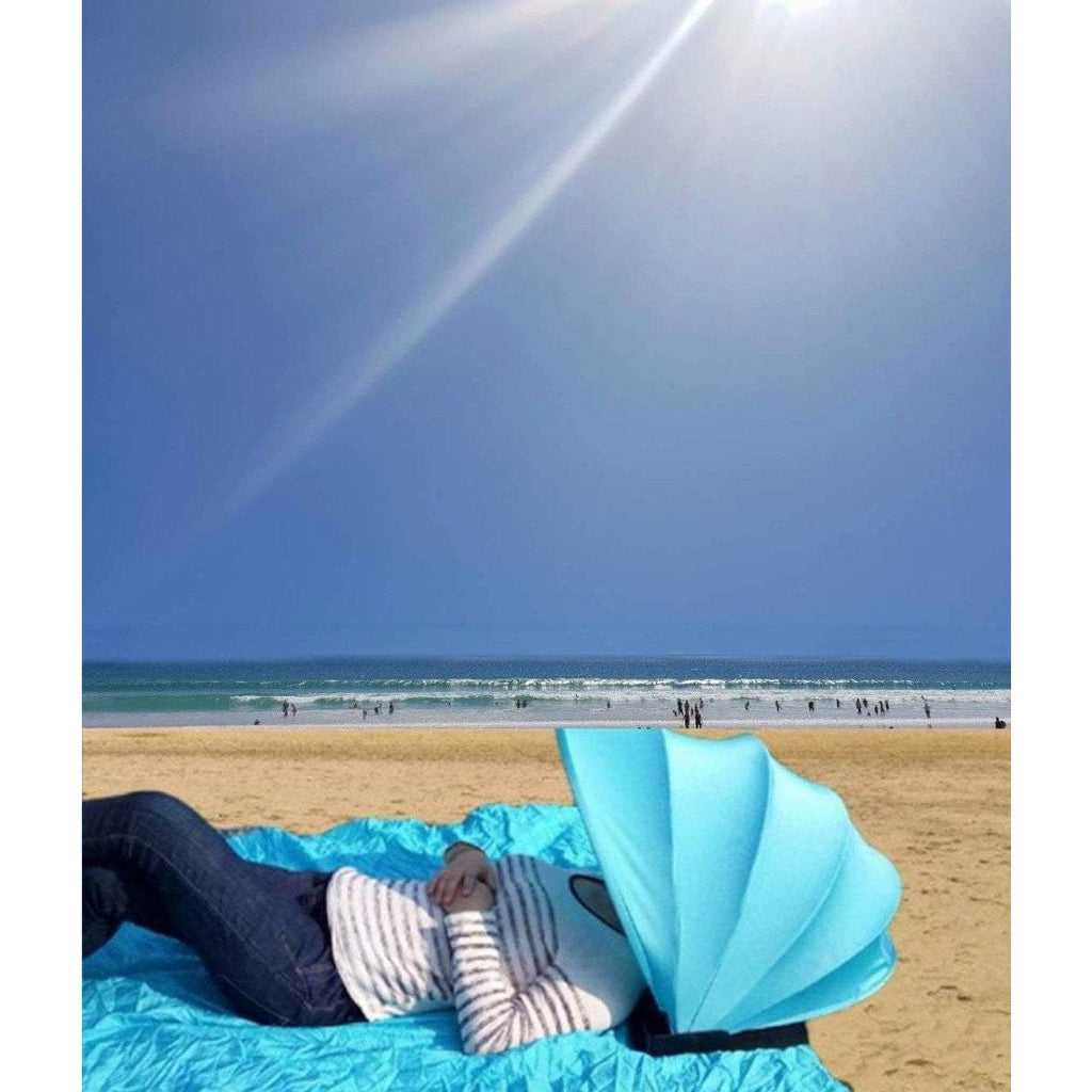 Mini Portable Beach Tent With Pillow - Sunny Central