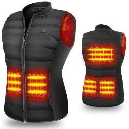 Warm Heated Vest - Sunny Central