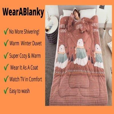WearABlanky - Quilt with Sleeves - Sunny Central