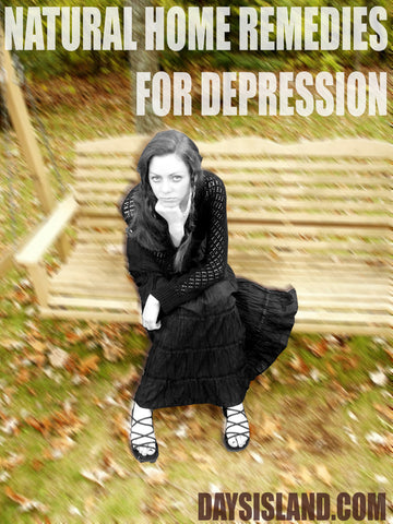 Natural Home Remedies for Depression - Days Island Essential Oils