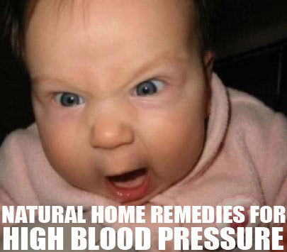 natural home remedies for high blood pressure