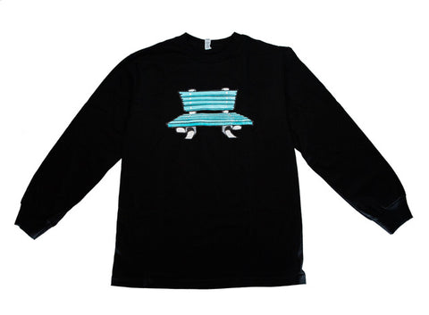 "b. ""Cartoon Bench Logo"" L/S Tee"