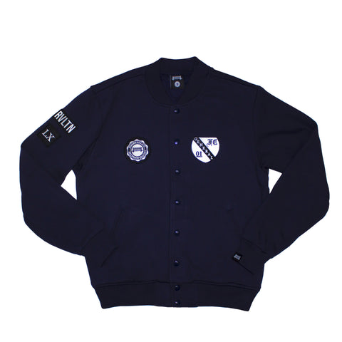g. Midnight Varsity Jacket