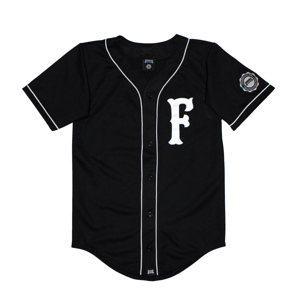 e. Slim Fit Men MVP Baseball Jersey