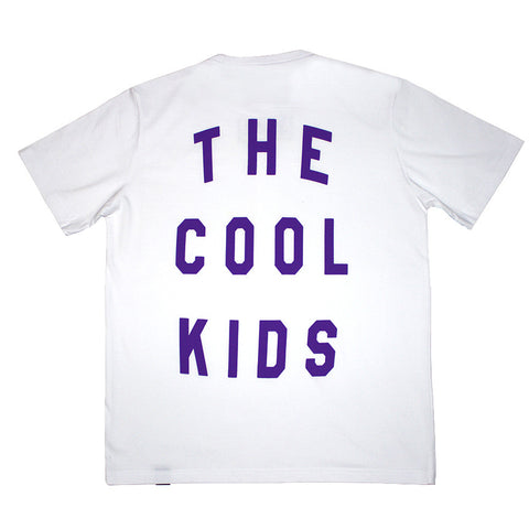 "k. ""The Cool Kids PRPL"" Tee"